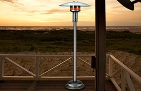 Natural Gas Patio Heater Installation